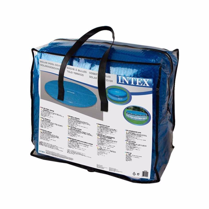 Обогревающий чехол Intex 29025 (для бассейнов, диаметром 549 см) Solar Pool Cover