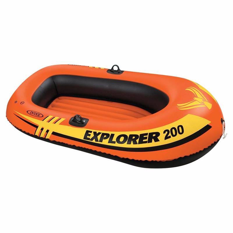 Двухместная надувная лодка Intex 58356 (196x102x33 см) Explorer Pro 200