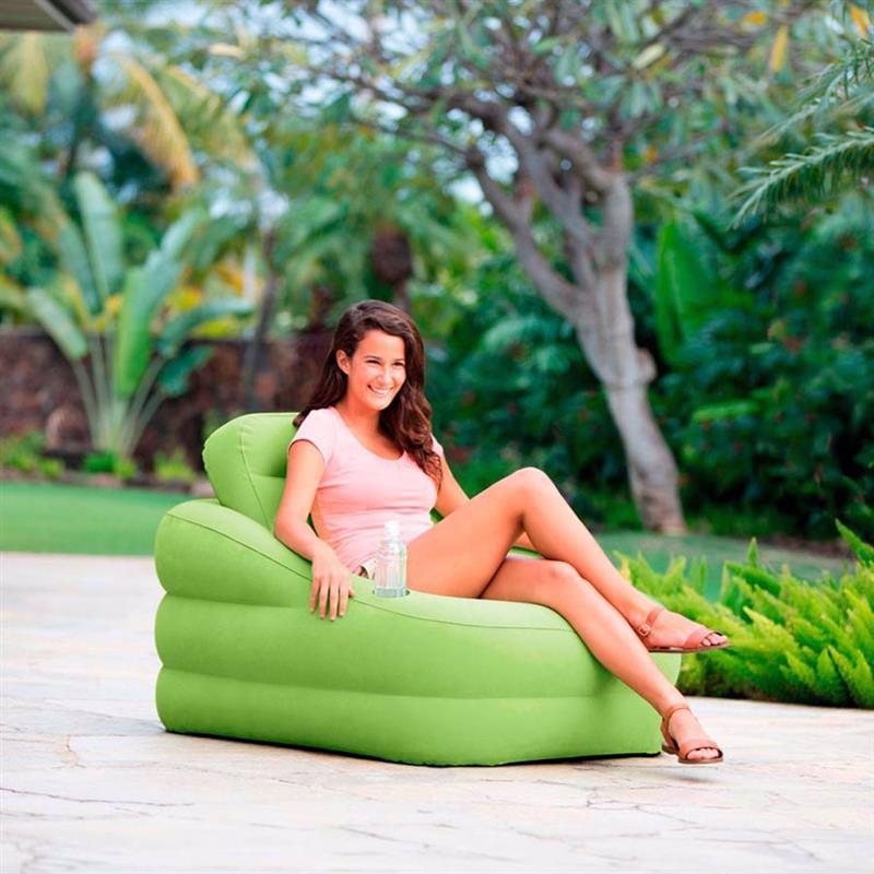 Надувное кресло Intex 68586 (97 x 107 x 71 см) Accent