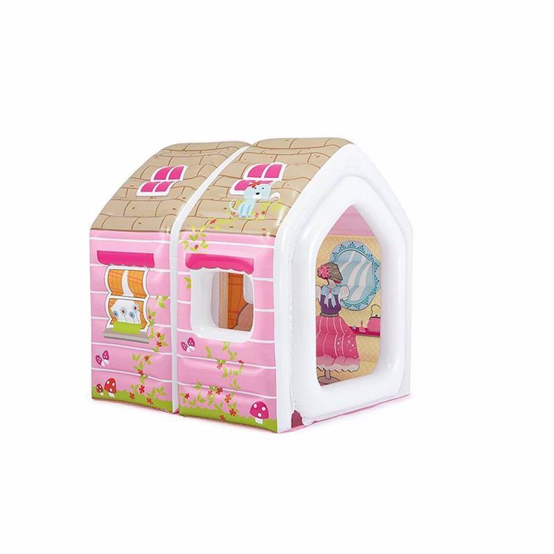 Надувной игровой центр-домик Intex 48635 (124 x 109 x 122 см) Домик Принцессы