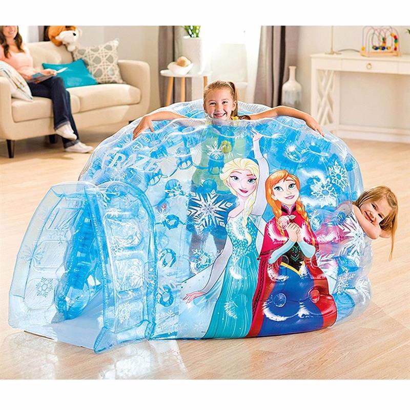Надувной игровой центр-домик Intex 48670 (185 x 157 x 107 см) Холодное Сердце