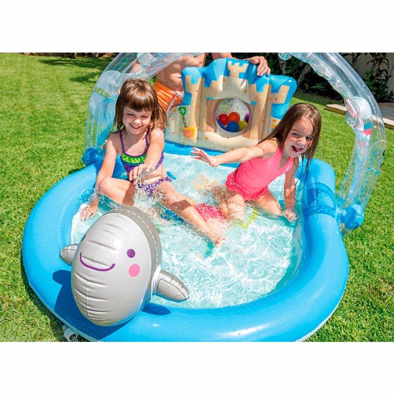 Водный надувной игровой центр Intex 57421 (170 x 150 x 81 см) Летний пляж