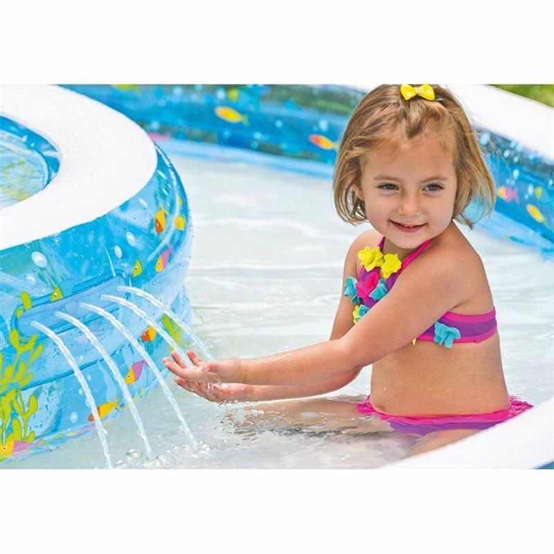 Семейный надувной бассейн Intex 57143 Wishing Well Pool (279x36 см)