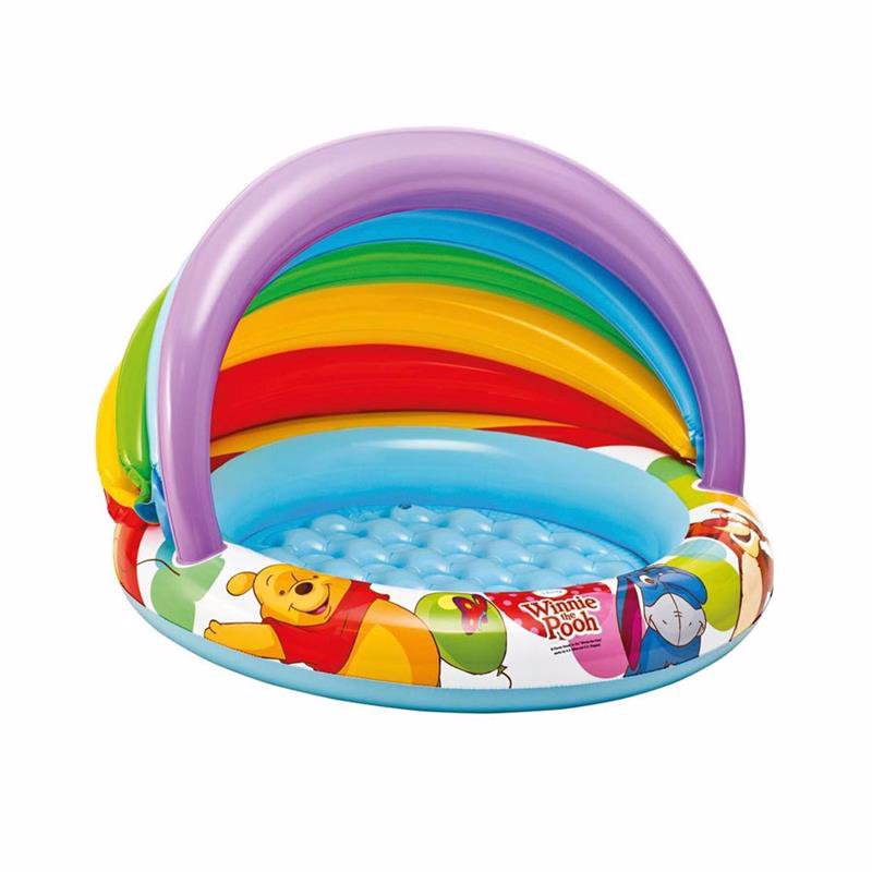 Детский надувной бассейн Intex 57424 Винни Пух Winnie The Pooh Baby Pool (102x69 см)