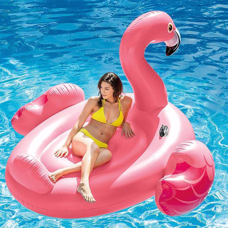 Надувной плот Intex 56288 Мега-остров Фламинго (218x211x136 см) Mega Flamingo Island