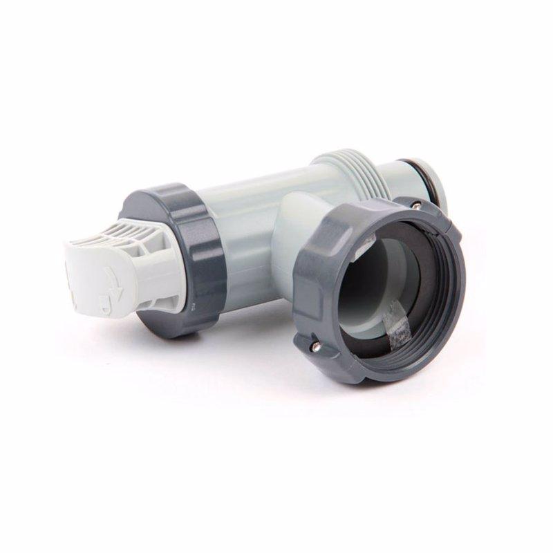 Плунжерный кран Intex 10747 (38 мм) (для фильтрующих насосов Intex)
