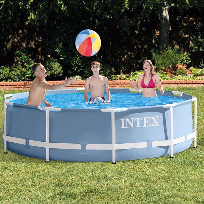 Круглый каркасный бассейн Intex 28700 (305х76 см) Prism Frame Pool