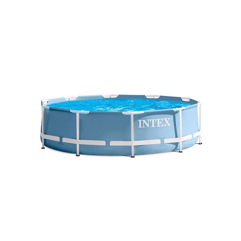 Круглый каркасный бассейн Intex 28710 (366х76 см) Prism Frame Pool