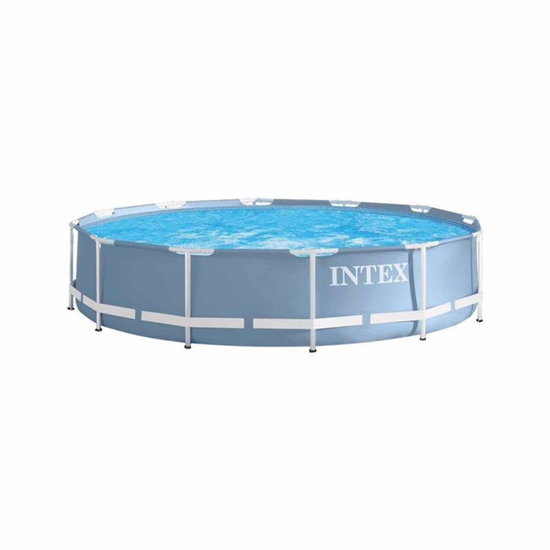 Круглый каркасный бассейн Intex 28712 (366х76 см) Prism Frame Pool