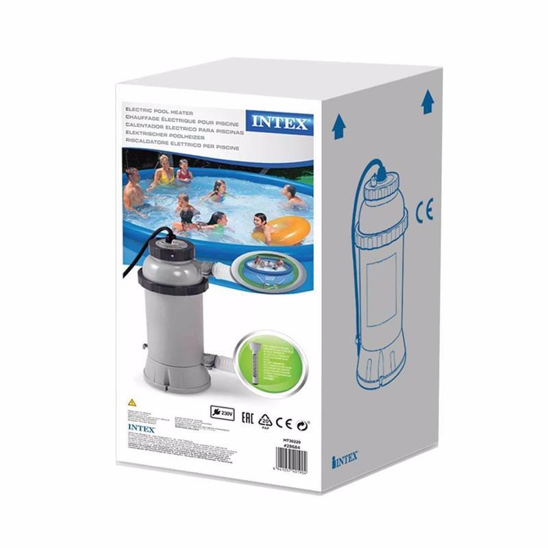 Нагреватель Intex 28684 воды для бассейна Heater (для бассейнов, диаметром до 4.57 см)