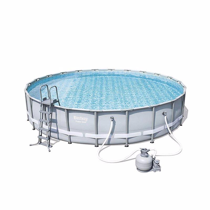 Круглый каркасный бассейн Bestway 56634 (671х132 см) Power Steel Frame Pool