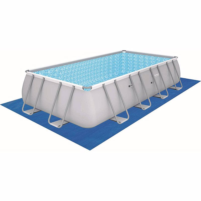 Прямоугольный каркасный бассейн Bestway 56466 (549х274х122 см) Power Steel Frame Pool
