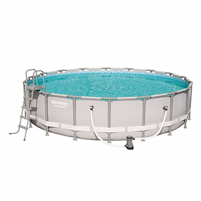 Круглый каркасный бассейн Bestway 56427 (549х132 см) Power Steel Frame Pool
