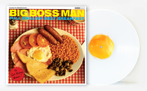 Big Boss Man Full English Beat Breakfast Limited 180g White Vinyl