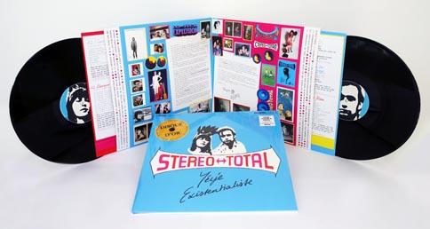 Stereo Total Yeye Existentialiste 180g Double Vinyl Gatefold Sleeve