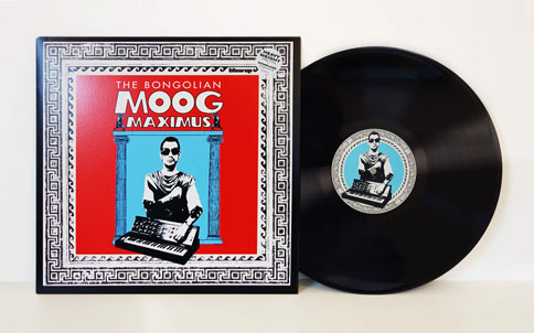 The Bongolian Moog Maximus 180g Vinyl LP