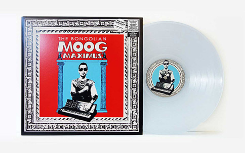 The Bongolian Moog Maximus - Limited Clear Vinyl