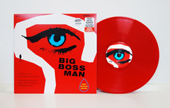 Big Boss Man Last Man On Earth Ltd. Red Vinyl