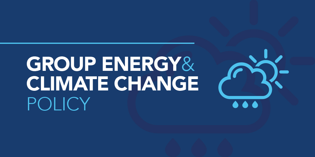 Group energy & climate change policy - Bluestar