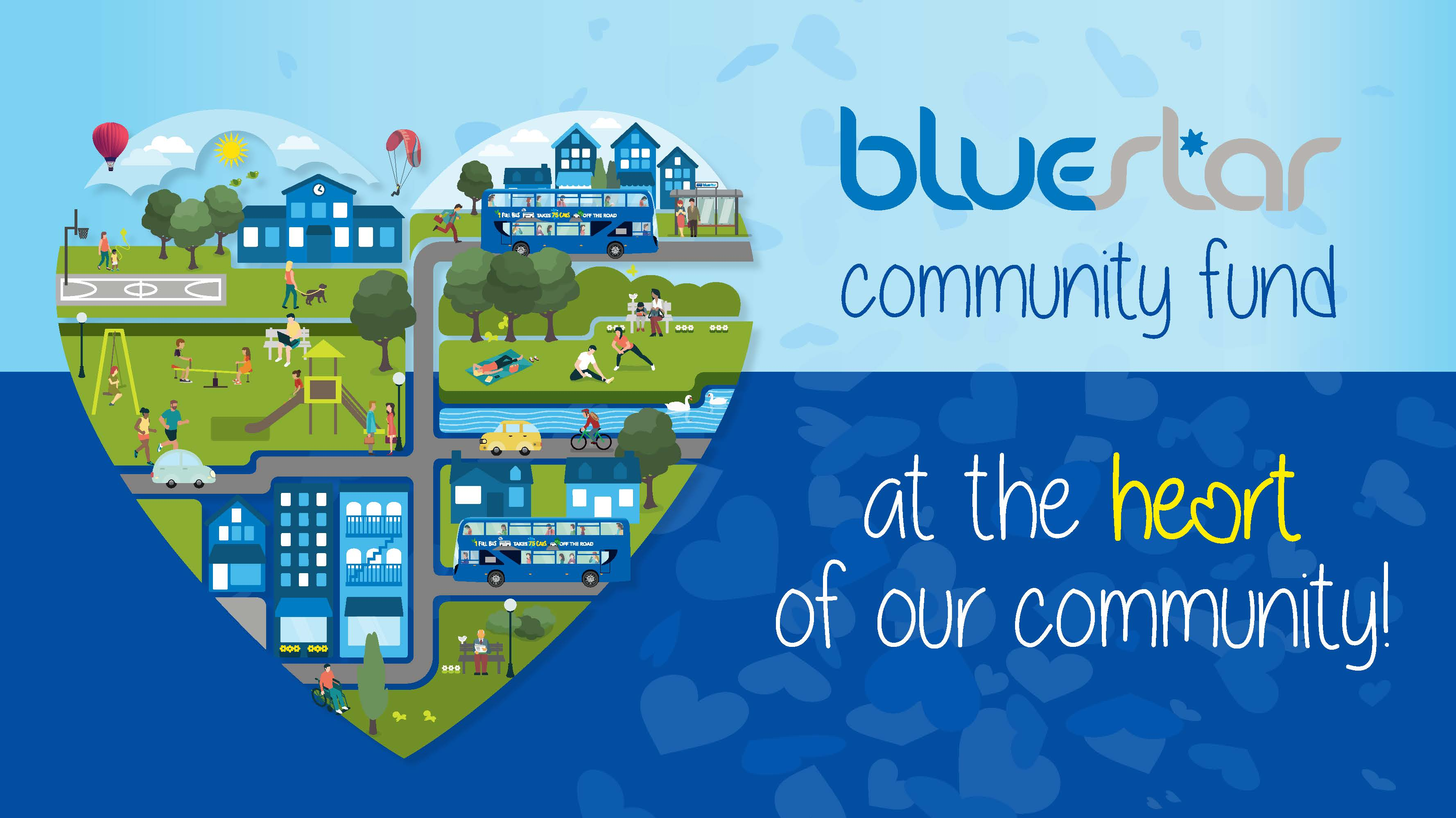 Bluestar Community Fund logo