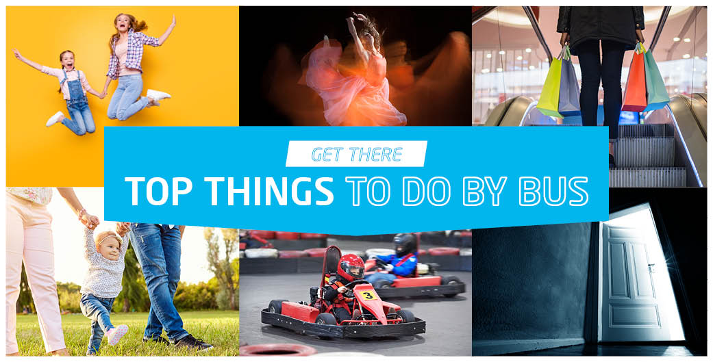 Top things to do by bus