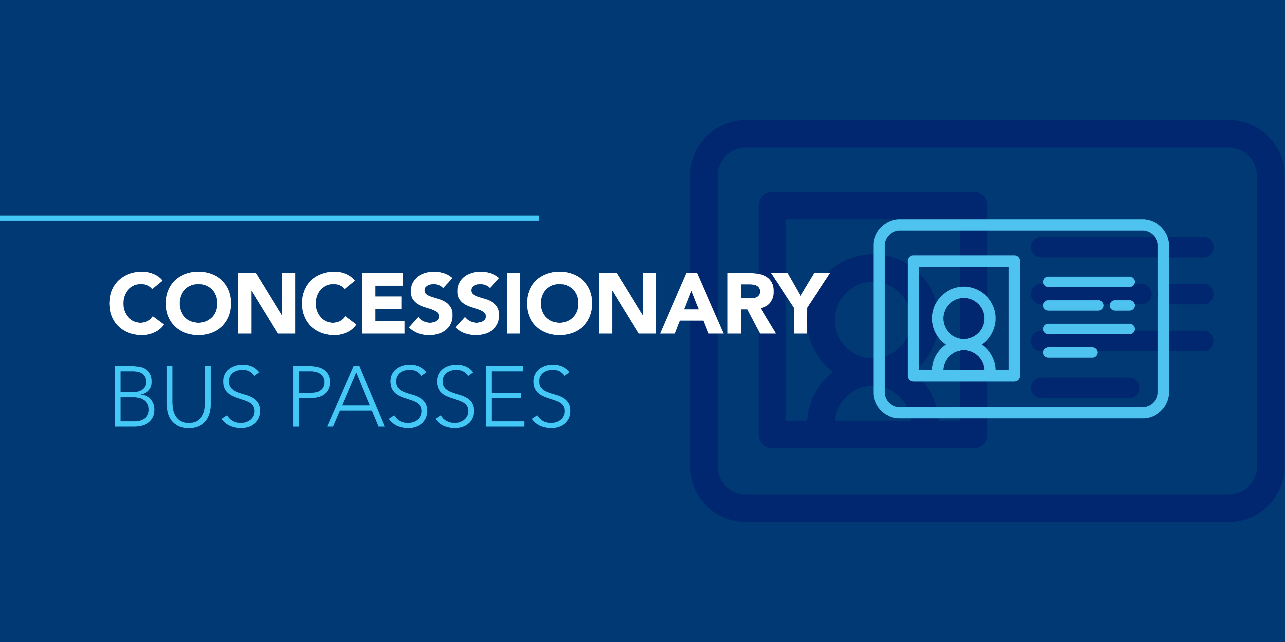 Image reading 'Concessionary Bus Passes'