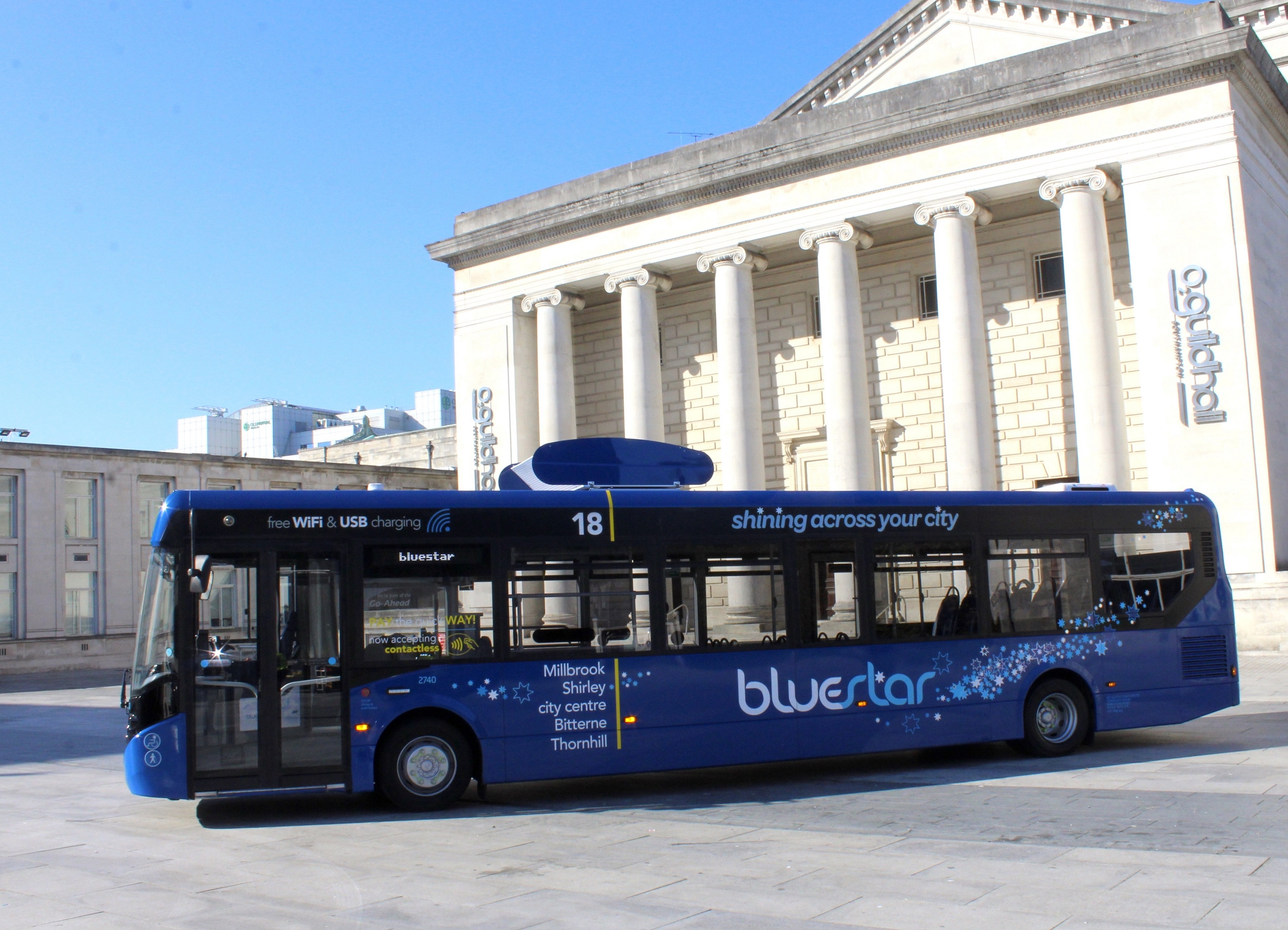 Bluestar's Air Filter Bus