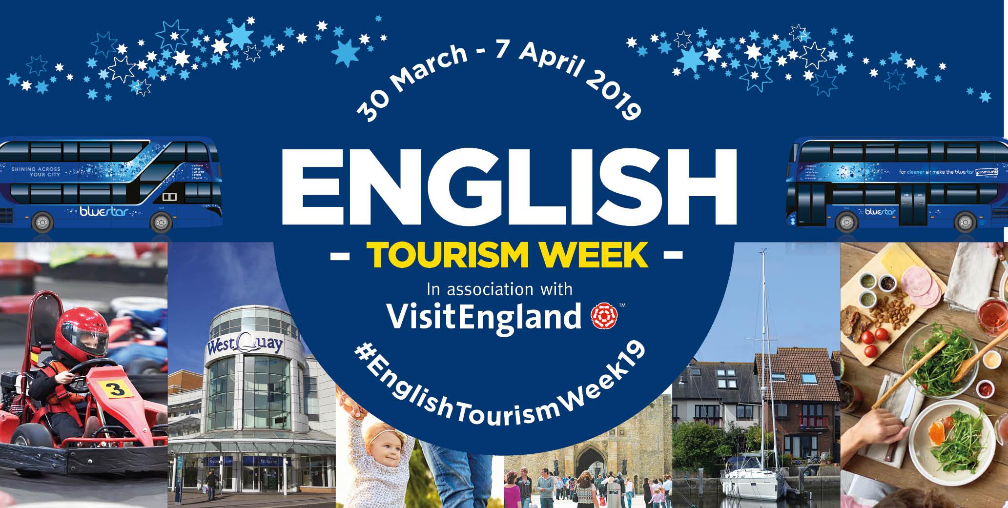English tourism week - 30th March - 7th April.