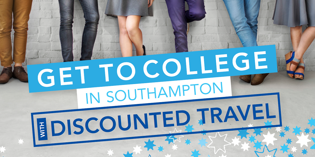 Get to college in Southampton with discounted travel