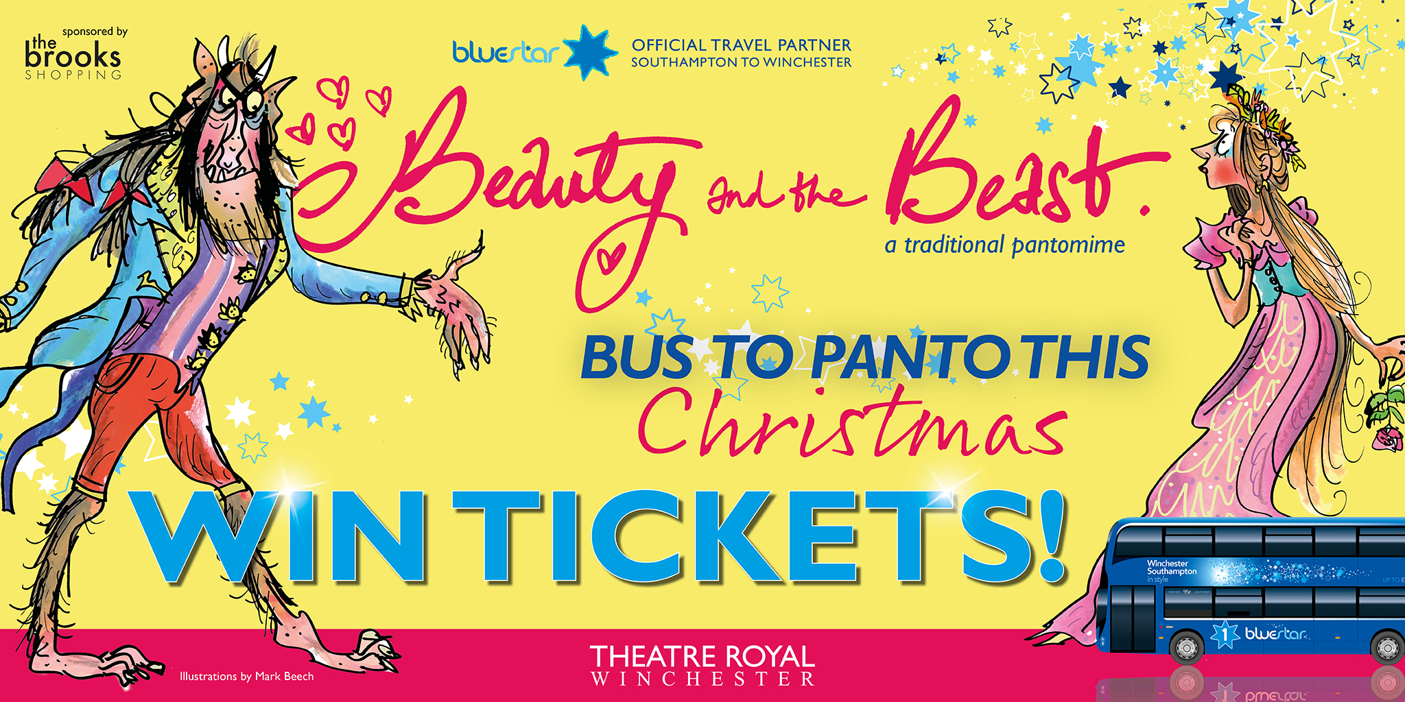 See Beauty and the Beast at Theatre Royal Winchester this Christmas