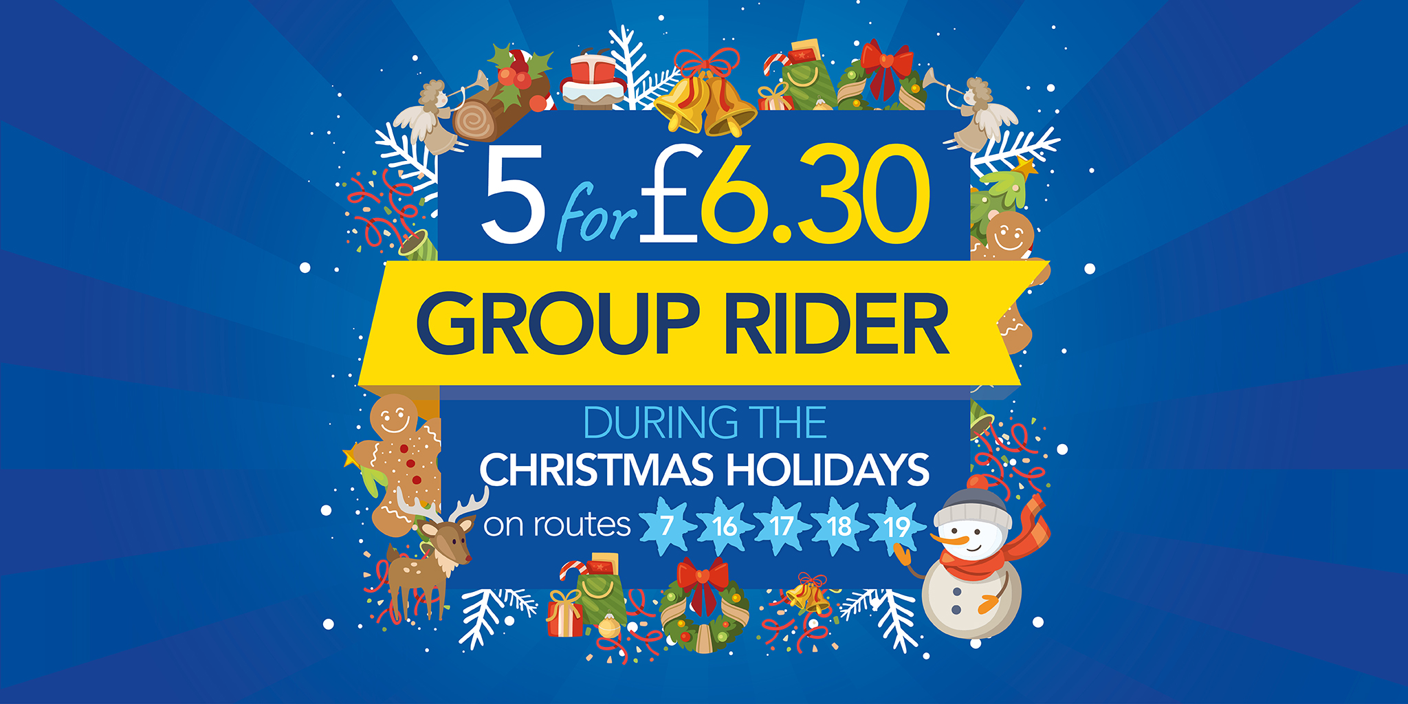 Holiday group rider back for Christmas