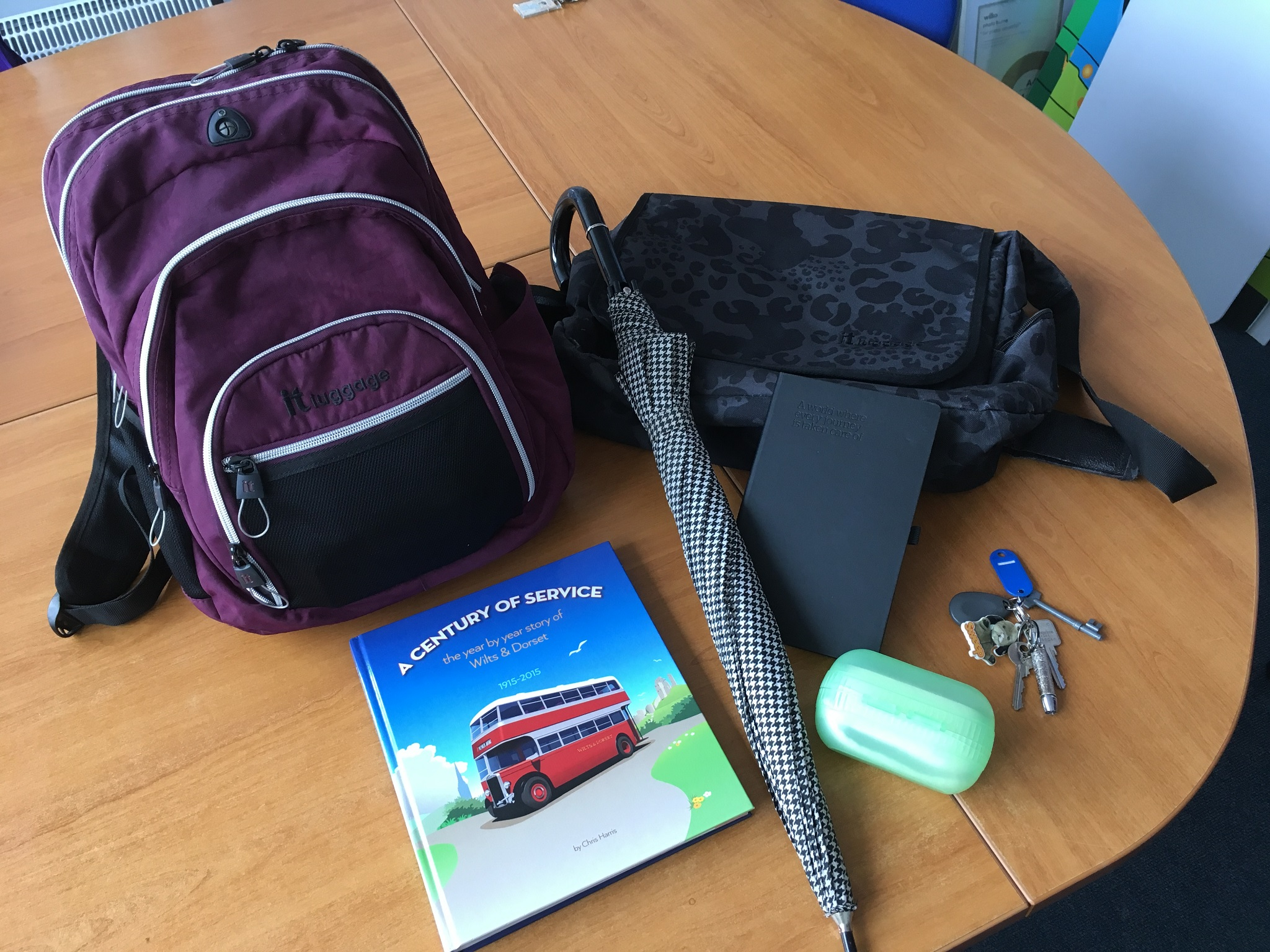 Photo of lost property items