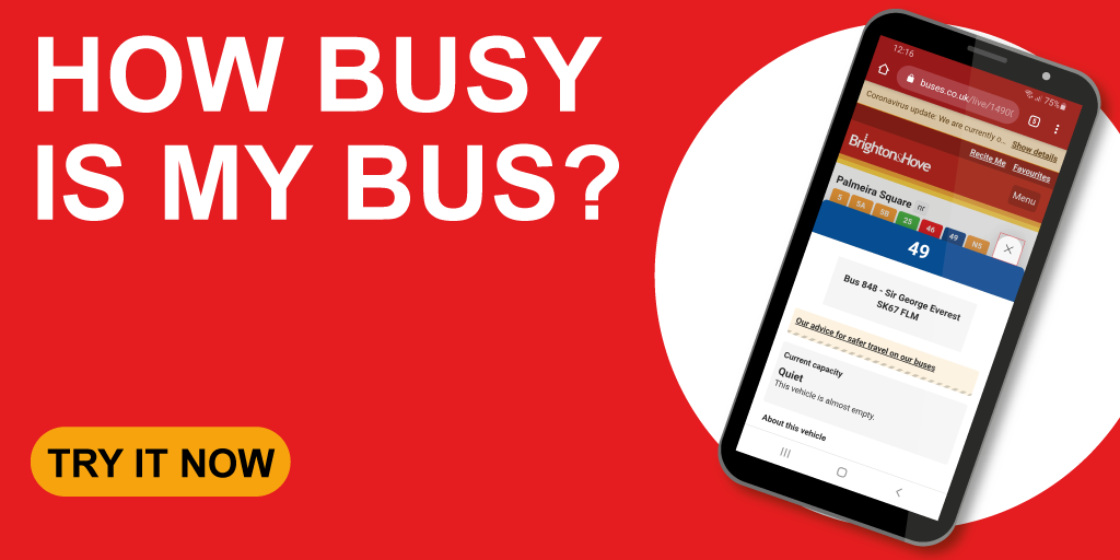 How busy is my bus? Try it now