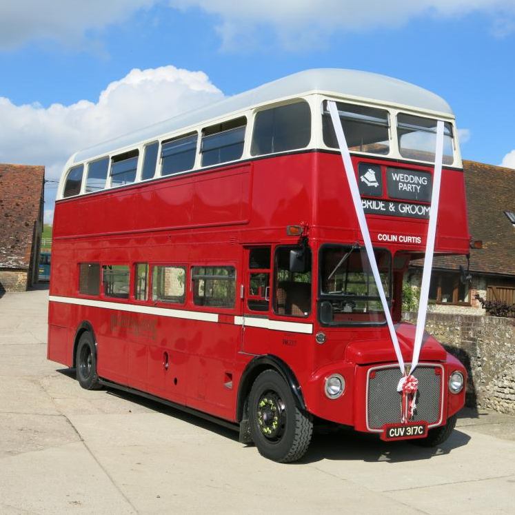 Routemaster wedding bus