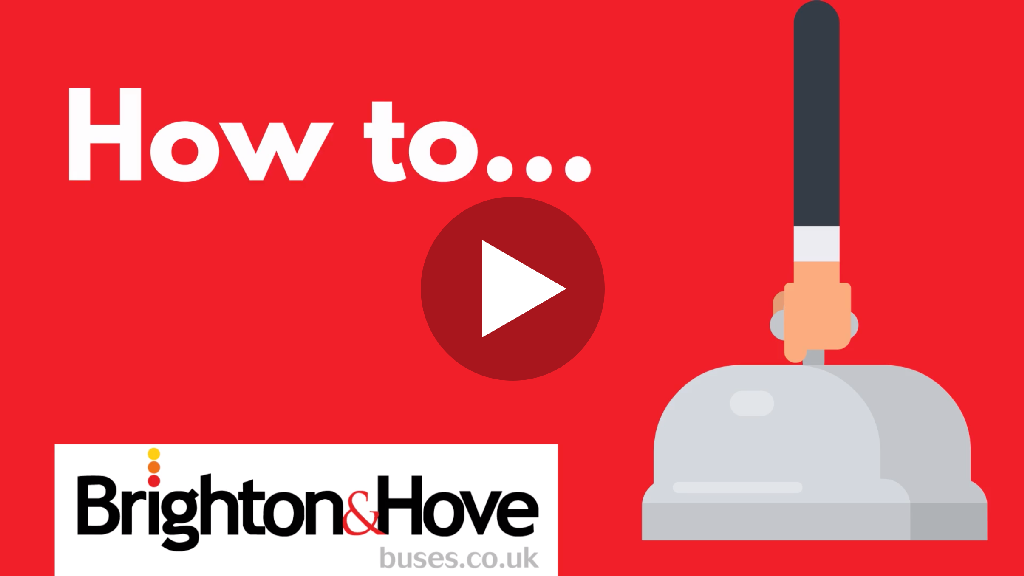 A preview thumbnail of video instructions for how to activate your mobile ticket