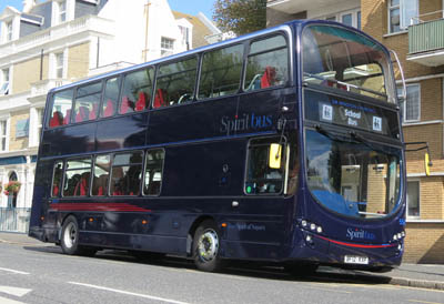 Spirit of Sussex Bus