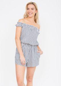 San Tropez Stripes Playsuit