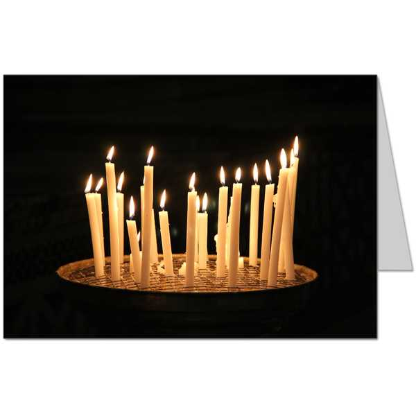 Candle Offertory Card