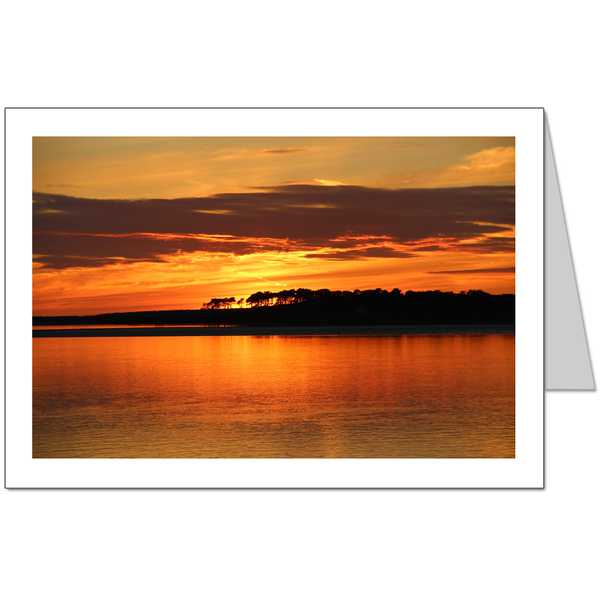 Anglesey Sunset Card