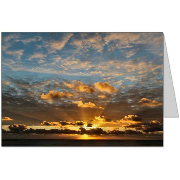 Lleyn Peninsula Sunset Card