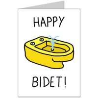 Happy Bidet Card