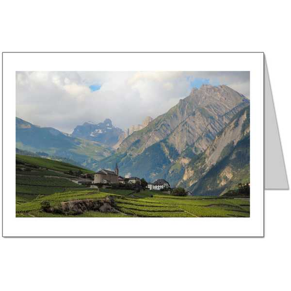 Rhone Valley Landscape Card