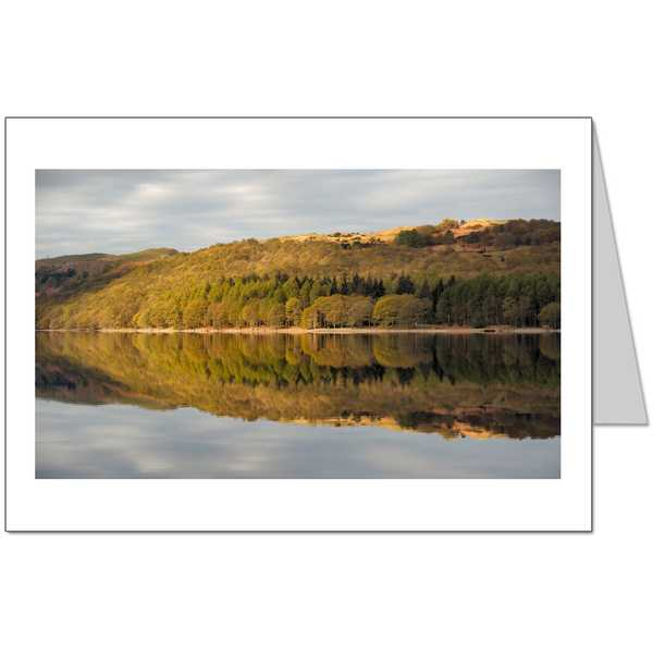 Coniston Reflection Card