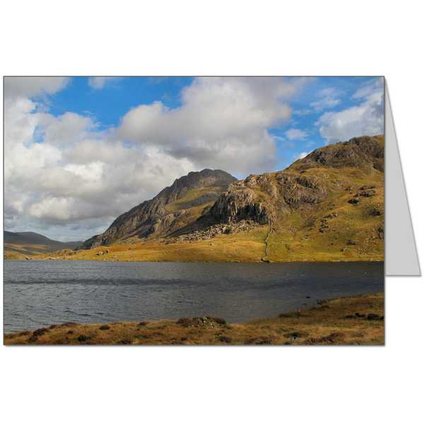 Llyn Idwal and Tryfan Card