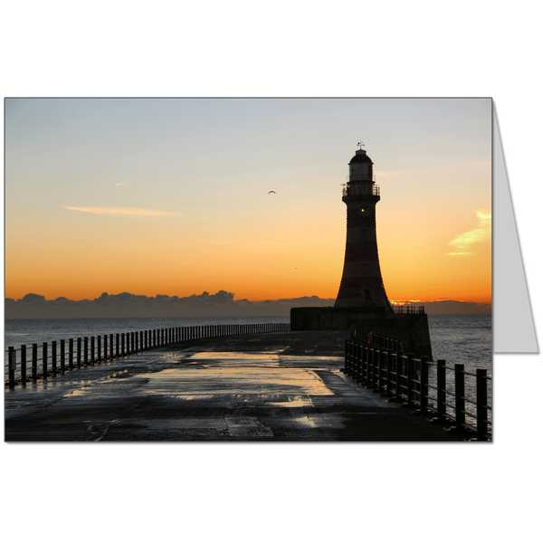 Sunderland Sunrise Card