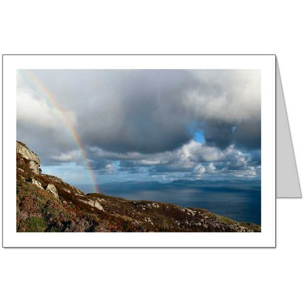 Donegal Rainbow Card
