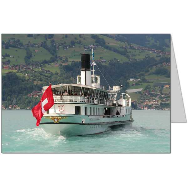 Thunersee Steamboat Card