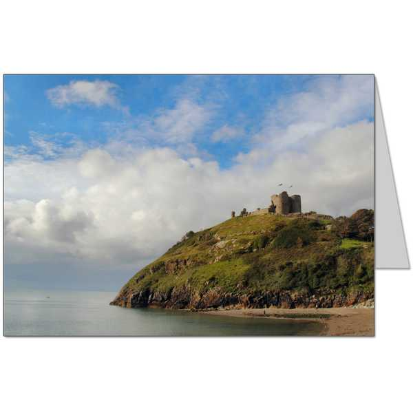 Criccieth Castle Card
