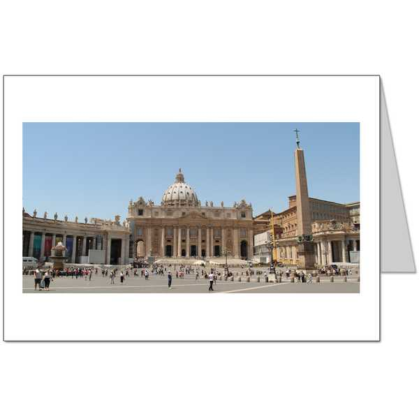 St Peters Basilica Card