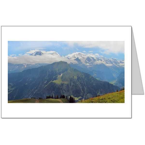 Eiger and Jungfrau Card